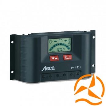 Régulateur de charge 15A 12-24V avec écran LCD STECA