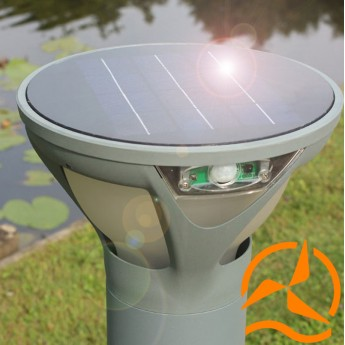 Borne solaire photovoltaïque Professionnelle - Coupe tulipe