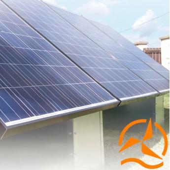 Système de fixation au sol pour panneaux solaires - Spécialement conçu pour l'autoconsommation