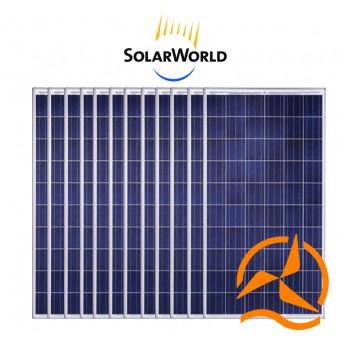 Lot de 12 panneaux solaires polycristallin 260w Solarworld