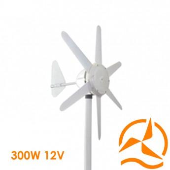 Eolienne 12 Volts 300 Watts complète nouvelle génération