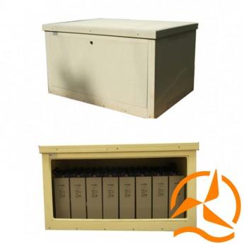 Coffres modulaires pour batteries
