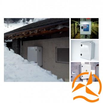 Coffrets électriques standard pour installation photovoltaïque