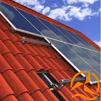 Support de fixation pour panneaux solaires en surimposition - Systèmes Pour tous types de Toitures en tuiles