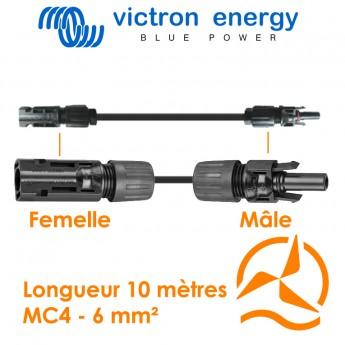Cable solaire 6mm² 10 mètres MC4 victron energy