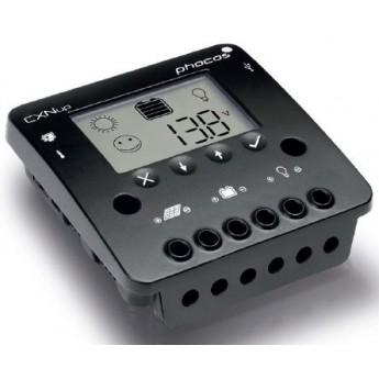 Régulateur Phocos 10 Ampères 12-24 Volts programmable et fonction crépusculaire CXNup10