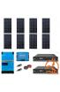 Kit Solaire Photovoltaïque Autoconsommation avec Stockage Lithium Pylontech  - PV 3kWc - 4,8kWh  - Batterie 48V - Monophasé