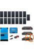 Kit Solaire Photovoltaïque Autoconsommation avec Stockage Lithium Pylontech  - PV 6kWc - 7,2kWh  - Batterie 48V - Monophasé