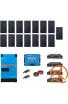 Kit Solaire Photovoltaïque Autoconsommation avec Stockage Lithium Pylontech  - PV 6kWc - 9,6kWh  - Batterie 48V - Monophasé