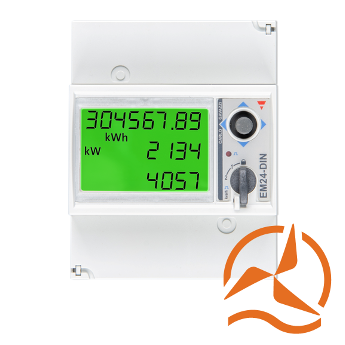 Compteur d'energie  EM24 Victron Energy - 3 phases - max 65A/phase Ethernet
