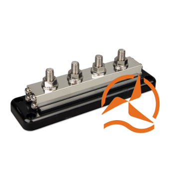 Busbar 600A - 4 plots + cover Victron Energy