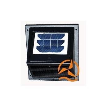 Ventilateur aérateur solaire de façade 60m3 par heures avec panneau solaire amovible