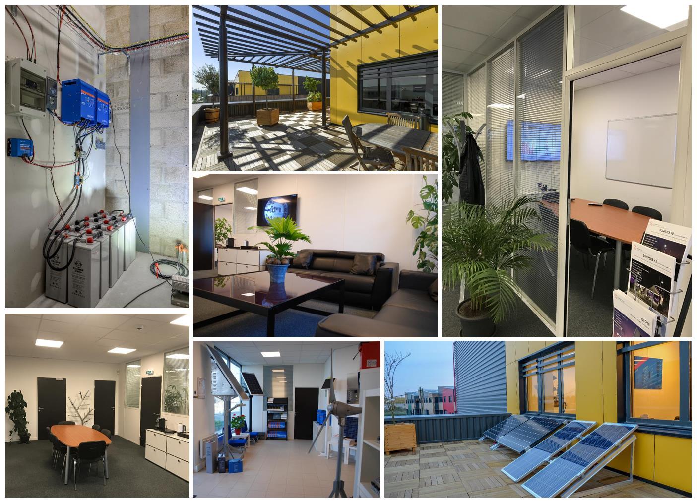 Photos des locaux de la société Energiedouce à Cormeilles en Parisis