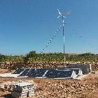 Energiedouce installation hybride solaire eolien maroc 1
